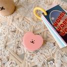 NHFI1812318-Epoxy-Bracket-[Pink-Love-Emoji]